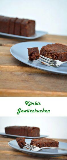 Kürbis Gewürzkuchen - Mit Schokolade, Nüssen und Kaffee. Das Kuchenrezept für den Herbst.