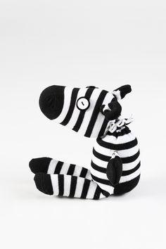 baby's room furry friends zebra handmade tedddy