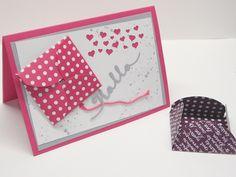 Mini-Blütenumschlag mit dem Stanz-und Falzbrett für Briefumschläge Envelope Punch Board, Mini, Up, Youtube, Book Folding, Youtubers, Youtube Movies