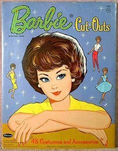 Barbie Paperdolls cut outs