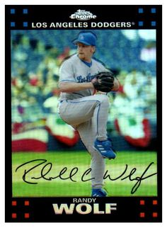 Just Added To Our Store 2007 Topps Chrome... Check It Out http://jmcollectibles.org/products/2007-topps-chrome-randy-wolf-refractor-los-angeles-dodgers?utm_campaign=social_autopilot&utm_source=pin&utm_medium=pin