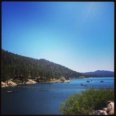 Hiking. Camping. Fishing. Big Bear Lake, California.
