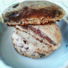 Cookies fourrés au Nutella fondant ♥