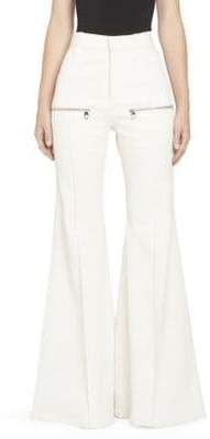 Chloe Stretch Denim Flare Leg Jeans with Front Pockets Flare Leg Jeans, Denim Flares, Stretch Denim, Chloe, Pockets, Legs, Pants, Fashion, Trouser Pants