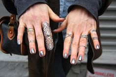 The Lady of the Rings #fashion #inspiration