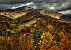 A stormy scenic photo of Maggie Valley, NC. Blue Ridge Mountains, Great Smoky Mountains, Maggie Valley Nc, Cherokee Nc, State Of Colorado, North Carolina Mountains, Autumn Scenery, Appalachian Mountains, Take Better Photos