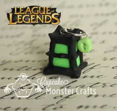 Hand made glow in the dark league of by CupCakeMonsterCrafts, $7.00