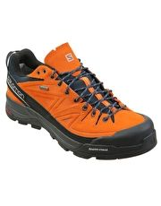 Salomon Mens X Alp LTR GTX Approach Shoe - Orange The technical Mens X Alp LTR GTX Approach Shoe from Salomon gives more flexibility and precision to the foot on tough terrain while the waterproof Gore-Tex lining protects the foot during rain fall an http://www.MightGet.com/january-2017-13/salomon-mens-x-alp-ltr-gtx-approach-shoe--orange.asp