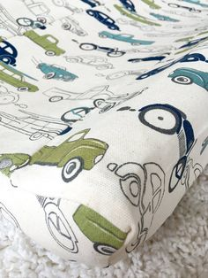 Classic Cars Changing Pad Covers, Boy Contoured Changing Pad Covers, Changing Table Accessories, Baby Must Have, Baby Nursery Accessories