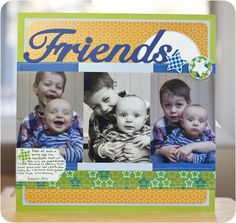 Rugged All Boy Additions and This and That #Cricut #Scrapbooking Layout from Creative Memories    http://www.creativememories.com