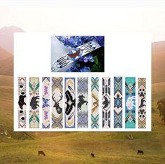 Kralen patronen Big Book Of Native Totem van Outoftheflames op Etsy