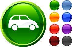 green car internet royalty free vector art vector art illustration