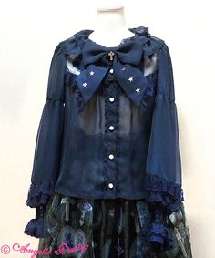 Milky Cross blouse