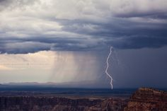 https://flic.kr/p/LqgoSZ | The Little Colorado | Spent about 18 hours at the Grand Canyon from Monday night through Tuesday evening, and it took until later in the day on Tuesday for storms to actually arrive and give me something fun for all my trouble!  This little storm developed out just northeast of the Little Colorado River near where it connects to the Colorado itself. A few bolts were falling and the shade was just right enough for the strikes to show up well against a dark…