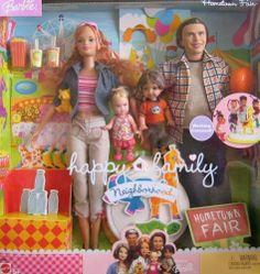 Happy Family Midge® Doll, Nikki® Doll, Ryan® Doll and Alan® Doll and