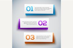Infographic design on the grey back by kanva777 on Creative Market
