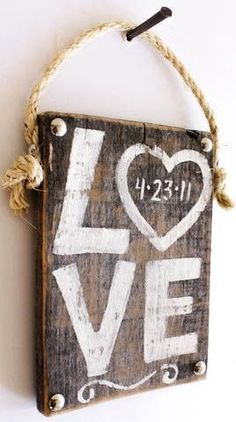 30 Lovely Diy Love Signs For Valentine's Day - ArchitectureArtDesigns.com
