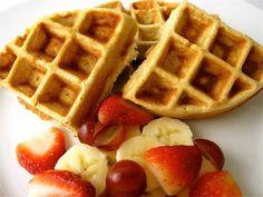 The BEST Organic Belgian Waffle Recipe (Gluten Free & Grain Free)!  Note: *Jess liked