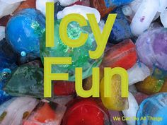 we can do all things: Icy Fun -- Sensory Play