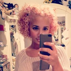 PINK PINK CURLY