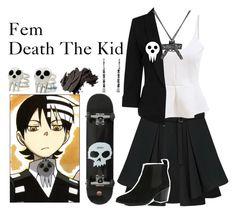 """Fem death the kid"" by deathnotegirl101 ❤ liked on Polyvore"
