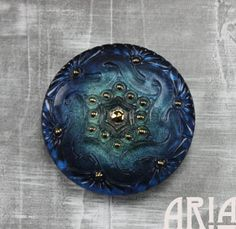 Hey, I found this really awesome Etsy listing at https://www.etsy.com/listing/232091012/czech-glass-button-41mm-lacey-twist