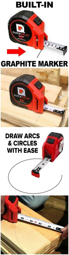 QUICKDRAW PRO Self Marking Tape Measure. #affiliate