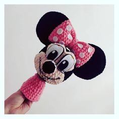 Návod na háčkovanie Minnie Mouse ~ Tvorím s láskou - by Peťka Crochet Toys, Minnie Mouse, Disney Characters