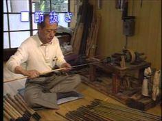 夢をつむぐ人々 (47)竹を磨き 自分を磨く~バンブーロッドビルダー~ - YouTube