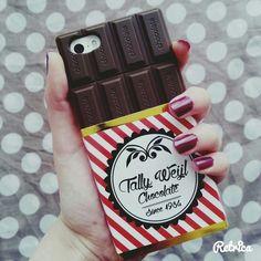 Immagine di case, chocolate, and iphone