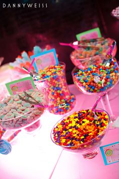 Bat Mitzvah Candy Buffet Tables NJ