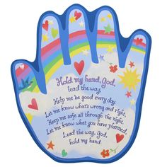 Hold My Hand Shaped Plaque | The Catholic Company Preschool Bible, Bible Activities, Religion Activities, Easter Activities, Sunday School Lessons, Sunday School Crafts, Bible School Crafts, Simple Prayers, Bible Story Crafts