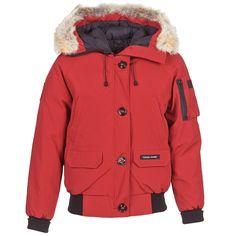 Canada Goose coats replica cheap - Parka navy capuche vraie fourrure Montebello Canada Goose pour ...