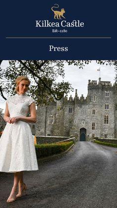 #TBT to Irish Wedding Diary Magazine's Spring 2018 issue featuring Kilkea Castle.