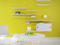 Estantería de pared PLEX by String Furniture | diseño Nils Strinning