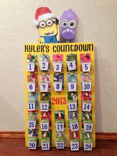 ... crafts behavior advent calendar jul minion advent advent calendar 3