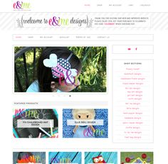 Pretty Chic - Pretty Darn Cute Design Feminine WordPress Theme Showcase