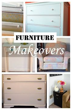Thrifty furniture makeovers | createandbabble.com