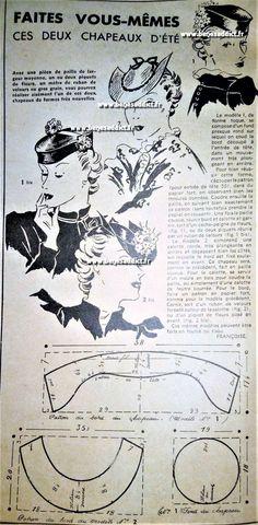 GRATUIT! 40 SUPERBES Patrons Couture Vintage de 1938 à 1941