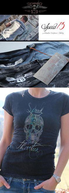T-shirts Hearty Hot Sale Super Fashion Slim Fit T Shirts Biker Girl Tattoo T-shirt Muscle Men Men& Tee Shirts Tops & Tees