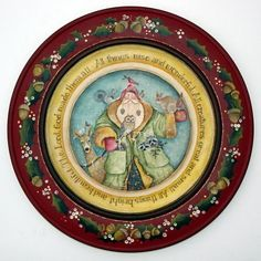 Lynne Andrews A Woodland Christmas Plate Pattern Packet