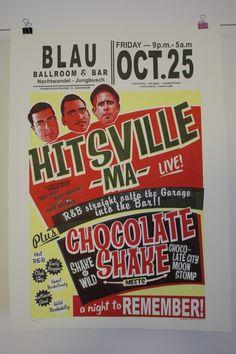 Hitsville MA - Screenprinted Gigposter