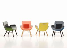 Straxs | Vitra launches a lounge chair by Hella Jongerius in Milan | piet klerkx