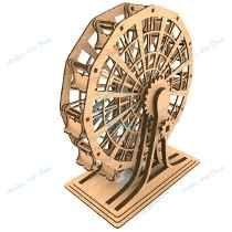 Roda Gigante Puzzle 3d Corte Laser Mdf 3mm