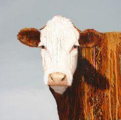 cows, ranch, paintings, art, texas, cattle, artist, western art, utah, charley snow-Oil-20-x-20