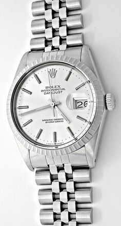 Foto 2, Rolex Datejust Herren-Armbanduhr Stahl Automatik Topuhr, U1059