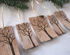 Looking for a wonderful holiday gift? These tea light candle holders are made of salvaged cedar wood. Each one has been cut and drilled, sanded