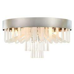 Ebern Designs <p>Ceiling lamp 5x33W G9</p><strong>Features:</strong><ul><li>metal, glass, glass</li><li>chrome</li><li>amber, silver</li><li>Product Type: Flush mount</li><li>Number of Lights: 5</li><li>Fixture Design: Crystal</li><li>Finish: </li><li>Secondary/Accent Material: No<ul><li>Secondary Material: </li></ul></li><li>Shade Included: No<ul><li>Shade Colour: </li><li>Shade Material: </li></ul></li><li>Primary Material: Metal</li><li>Sloped Ceiling Compatible: No</li><li>Maximum…