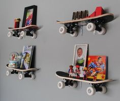Cool Shelving ideas for boys room - Click image to find more Kids Pinterest pins