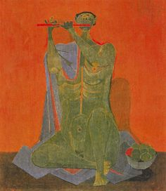 "amare-habeo: ""  Rufino Tamayo (Mexican 1899-1991) Flutist (Flautista), 1944 Oil on canvas """